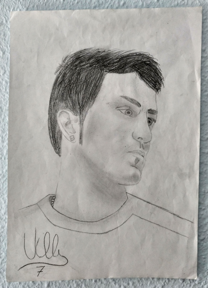 David Villa by Nereaaj